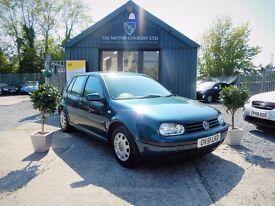 Volkswagen Golf 1.9 E SDI (green) 2002