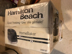 Hamilton Beach 29882C HomeBaker Breadmaker (Black) - New