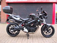 BMW F800 R ABS 2013 ONE OWNER FBMWSH NEW MOT HPI WARRANTY FINANCE STUNNING