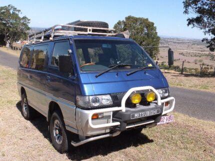 Mitsubishi DELICA 4x4 CamperVan Brisbane City Brisbane North West Preview