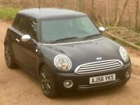 Mini Mini 1.6 (120bhp)( Chili) Cooper 2006/56 108000 miles Astro Black Metallic