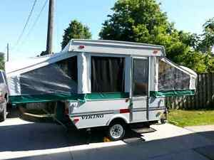 2003 viking 8' tent trailer