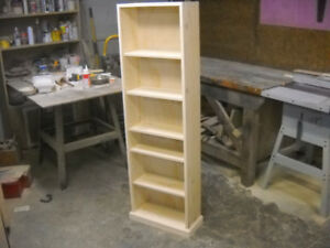 Custom  made Bookcase/wall units/wine storage