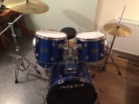 Aria drum kit - good condition - collection only