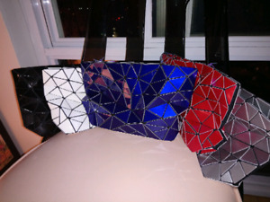 Geometric Bags and Backpacks