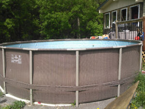 16' Outbound pool-Wicker style