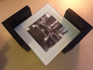 Set of 6 Customizable Photo Coasters - New in box