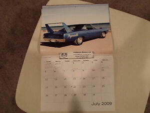 New 2009 DODGE MUSCLE CARS CALENDAR                       x2 Sarnia Sarnia Area image 6