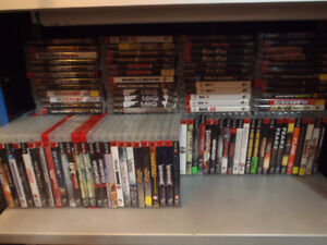 lots of different playstation 3 games