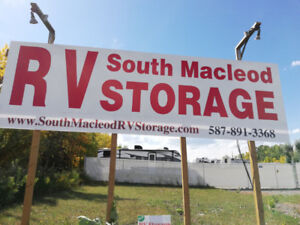RV, boat, camper,motorhome storage and parking for rent