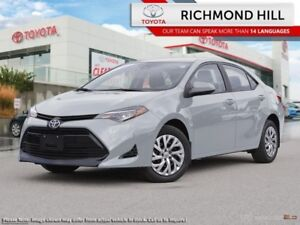 2018 Toyota Corolla LE Upgrade Package  - $64.02 /Wk