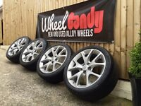 "18"" genuine Vauxhall Corsa VXR alloy wheels and tyres 5x110 Astra"