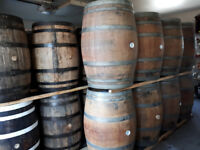 LOOK >> 500 x Wine & Whiskey  Barrels.  $165 to $325 each