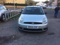 Ford Fiesta 1.25 2005 55 PLATE - 9 MONTHS MOT -