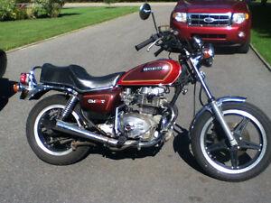 Moto antique  honda cm 400 1981