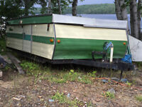 This ain't your folks tent trailer....just kidding, it might be!