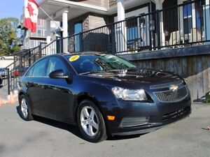 2014 Chevrolet Cruze LT / 1.4L Ecotec I4 / 6 speed manual/FWD