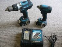 Makita kit Combi drill and impact driver