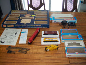 Vintage Lot of HO Scale Train Model Power with Boxes