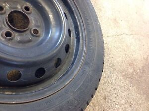 FOUR GRISLAVED WINTER TIRES - 195/55/R15 89T London Ontario image 4