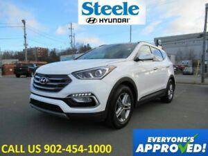 2018 Hyundai SANTA FE SE AWD Sunroof Leather Blindspot Detection