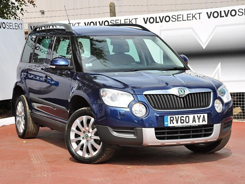 2010 skoda yeti elegance tsi 4x4 petrol blue manual in. Black Bedroom Furniture Sets. Home Design Ideas