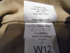 Women's Coveralls Overall by AGO Size W12 INDURA UltraSoft New Kitchener / Waterloo Kitchener Area image 9