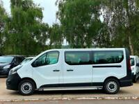 2015 (65) VAUXHALL VIVARO 1.6 CDTI 2900 LWB 9 SEAT MINI BUS (AIR CON / NO VAT)