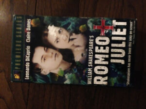 New in Box - Never Opened or Played - VHS - Romeo & Juliet