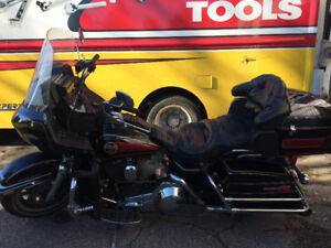 1991 Harley Davidson Ultra Electric Tour Glide Motorcycle