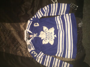 Dion Phaneuf Leafs Jersey