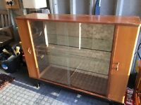 Retro lovely display cabinet