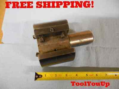 1 Adjustable 40mm Vdi Shank Dia Lathe Turning Tool Holder Machine Shop Tooling