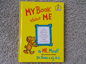 My Book About Me-Dr. Seuss-Large Hard Cover Children's book London Ontario image 1