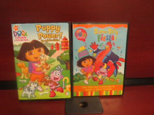 2 Dora dvds in excellent condition