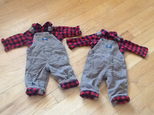 Cute OshKosh Overall Outfits