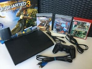 Console Ps3 120gig + Uncharted 1,2,3 - 120$