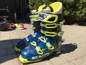 bottes ski Scarpa