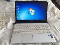 Sony vaio laptop, intel core i5 processor, 2.50ghz with turbo boost up to 3.10ghz
