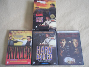 John Woo and Chow Yun-fat DVDs