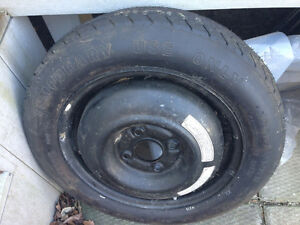 2 spare car tires w rims Windsor Region Ontario image 2