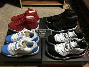Jordan 11s High and Low