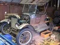 Recherche Ford model T Ford model A complet ou en pieces