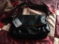 Black handbag new with tags