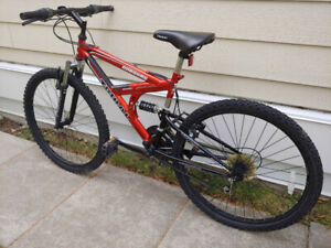 FULLY TUNED FULL SUSPENSION Tribal Norquay 26 inch Mountain Bike