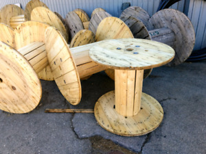 Wooden Cable Spool Kijiji In Ontario Buy Sell Save With