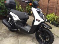 Yamaha BWS 125 2013, 12 months mot, low mileage