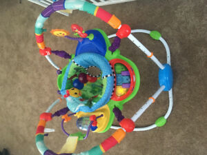 Baby gym/ baby island $50