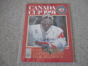 Canada Cup 1991-Excellent condition Collectible magazine