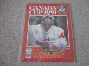 Canada Cup 1991- Collectible magazine + Don Cherry dvd-Lot $5